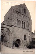 CP, 89, VEZELAY, Maison Romaine, Ecrite En 1936 - Vezelay