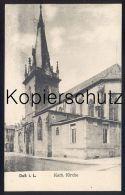 ALTE POSTKARTE Duß In Lothringen Katholische Kirche Church église Dieuze Lorraine Duss Cpa Postcard AK Ansichtskarte - Dieuze