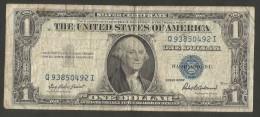 [NC] U.S.A. - SILVER CERTIFICATE - 1 DOLLAR (SERIES 1935 F) - Silver Certificates (1928-1957)