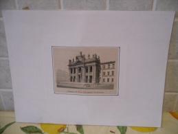 STAMPA DA QUADRO CHIESA DI SAN GIOVANNI LATERANO 1864 - Prenten & Gravure