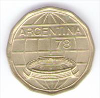 ARGENTINA 100 PESOS 1978 MUNDIAL FUTBOL - Argentina