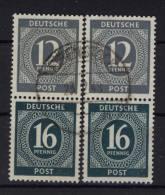 2x Gemeinschaftsausgaben S 294 gestempelt used