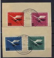 BRD Michel No. 205 - 208 gestempelt used / Stempel 5.5.55 - 5