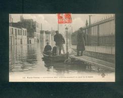 Paris Venise - Inondations De 1910 - Embarquement Au Quai De La Rapee ( F. Fleury 113) - Distretto: 12