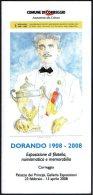 ATHLETICS / OLYMPIC GAMES LONDON 1908 - ITALIA CORREGGIO 2008 - INVITO INAUGURAZIONE MOSTRA: DORANDO PIETRI 1908 / 2008 - Giochi Olimpici