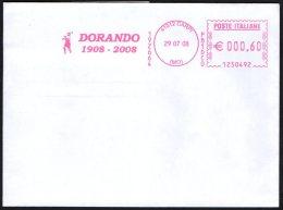 ATHLETICS / OLYMPIC GAMES LONDON 1908 - ITALIA CARPI 2008 - METER / EMA DORANDO PIETRI 1908 / 2008