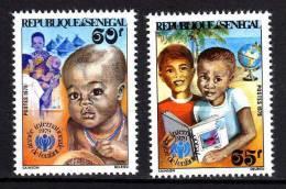 Sénégal N° 516 / 17   XX   : Année Internationale De L´Enfant  La Paire Sans Charnière, TB - Senegal (1960-...)