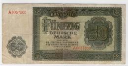 DEUTSCHEN NOTENBANK  -  50 Deutsche Mark   -  1948  - - [ 6] 1949-1990 : GDR - German Dem. Rep.