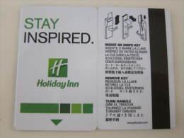 Hotel Key Card,Holiday Inn - Schede Telefoniche