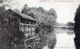 CLEREY - LE PONT SUR LA SEINE - LE LAVOIR -  BELLE CARTE -  TOP !!! - France