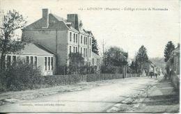N°35580 -cpa Gondron -collège Et Route De Normandie- - Otros Municipios