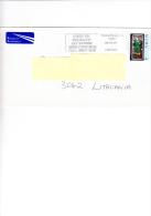 IRLANDA 2004 - Unificato 1586 Su Busta  Per La Lituania - 1949-... Repubblica D'Irlanda