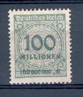 VARIETES ALLEMAGNE   REICH  ANNÉE 1923   N° 303    NEUF SENS GOMME DESCRIPTION - Abarten