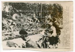 FOTOGRAFIA ORIGINALE TOUR DE FRANCE BLOUNE PASOTTI DE RICK REDOLFI GAUTHIER LILLE NORD PAS DI CALAIS ANNI ´50 CICLISMO - Sport