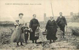 Bretignolles Sur Mer : Retour De Pêche - Bretignolles Sur Mer