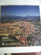 Alt424 Calendario 1988, Biella, Battistero, Piazzo, Monastero, Funicolare, Veduta Aerea - Formato Grande : 1981-90