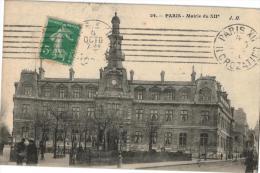 Carte Postale Ancienne De : PARIS-Mairie XII - Arrondissement: 12