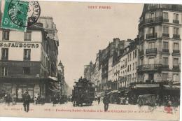 Carte Postale Ancienne De : PARIS -Faubourg Saint Antoine - Arrondissement: 12