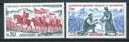 ANDORRA 1963** - Avvenimenti Storici Di Andorra - 2 Val. MNH Come Da Scansione - French Andorra