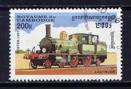 CAMBODGE - N° 1434° -  LOCOMOTIVE 4-4-2T N° 488 - Cambodge
