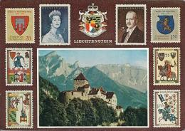 Liechtenstein   Stamps On Card   B-415 - Liechtenstein