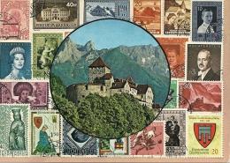 Liechtenstein   Stamps On Card   B-546 - Liechtenstein