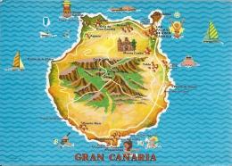 Gran Canaria  Spain  A-2841 - Landkarten