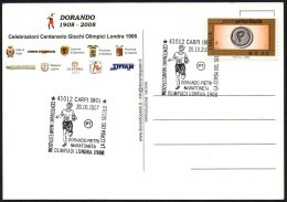 ATHLETICS / OLYMPIC - ITALIA CARPI (MO) 2007 - CENTENARIO DORANDO PIETRI MARATONETA - OLIMPIADI DI LONDRA 1908 - Summer 1908: London