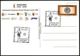ATHLETICS / OLYMPIC - ITALIA CARPI (MO) 2007 - CENTENARIO DORANDO PIETRI MARATONETA - OLIMPIADI DI LONDRA 1908