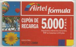 = SPAIN - AIRTEL  - 6  - MY COLLECTION = - Airtel