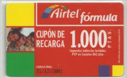 = SPAIN - AIRTEL  - 7  - MY COLLECTION = - Airtel