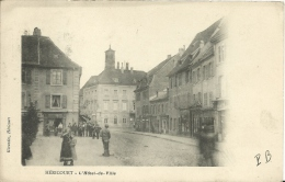HERICOURT ( Haute-Saône ) -  HÔTEL DE VILLE -  Dos Simple 1905 - Francia