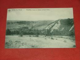 DOURBES  -  VIROINVAL   - Vallée Du Viroin  - Ruines Du Château  De Haute Roche  -  1924 - Viroinval