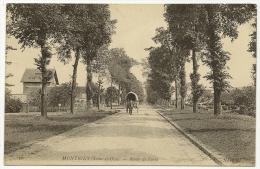 MONTIGNY Route De Paris (ND Phot) Yvelines (78) - Montigny Le Bretonneux