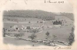 ABBAYE DE LA GRACE-DIEU VUE GENERALE 25 DOUBS 1900 - Francia