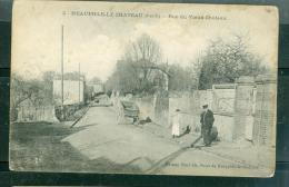 Yvelines-78-Neauphle Le Chateau-rue Du Vieux Chateau ( Inédit Ainsi  Sur Delcampe ) - Abz158 - Neauphle Le Chateau
