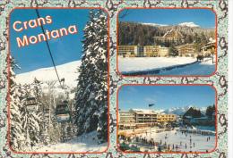 Station Crans Montana Switzerland - VS Valais