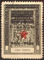 YUGOSLAVIA - JUGOSLAVIA - ITALIA - FIUME - RIJEKA - REVENUE BOLLO  100 Lit - **MNH - 1946 - Yugoslavian Occ.: Fiume
