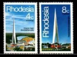 RHODESIA 1978 Trade Fair Zegels Mint  204-205 - Rhodesia (1964-1980)