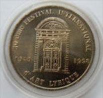 2 Euro Temporaire Precurseur De AIX EN PROVENCE  1998, RRRR, UNC, Nickel, Nr. 9 - Euro Der Städte