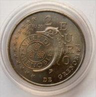 2 Euro Temporaire Precurseur De GRENOBLE  1998, RRRR, UNC, Nickel, Nr. 328, Scarce - Euro Der Städte