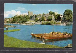 44079      Regno  Unito,     Windsor  Castle  From  The  River  Thames,  VG  1965 - Windsor Castle