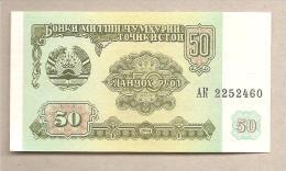 Tagikistan - Banconota Non Circolata Da 50 Rubli - 1994 - Tagikistan