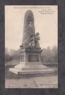 CPA - QUINTIN - Monument Des Enfants Morts Pour La France - Erigé Par M. Elie Le Goff , Statuaire à SAINT BRIEUC - France