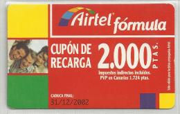 = SPAIN - AIRTEL  - 12  - MY COLLECTION = - Airtel