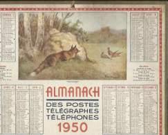 Calendrier Des Postes Du Puy De Dome 63  ( Complet ) - Calendars