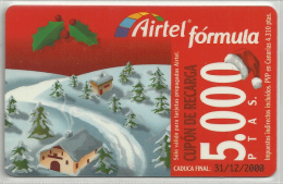 = SPAIN -  AIRTEL  - 16  - MY COLLECTION = - Airtel