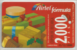 = SPAIN -  AIRTEL  - 18  - MY COLLECTION = - Airtel
