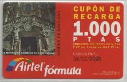= SPAIN -  AIRTEL  - 19  - MY COLLECTION = - Airtel