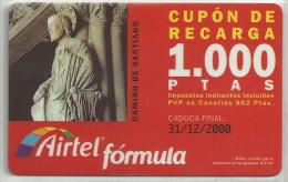 = SPAIN -  AIRTEL  - 20  - MY COLLECTION = - Airtel